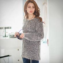 溫暖印象混色粗針織毛衣(共6色)