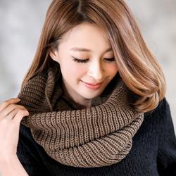溫暖必備針織脖圍巾