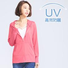 高效抗UV吸濕排汗連帽機能外套(共7色)