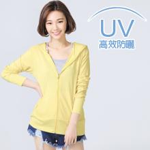 高效抗UV吸濕排汗連帽機能外套