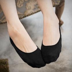 矽膠防滑舒適萊卡隱形襪 (共6色)