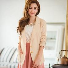 輕熟質感金釦西裝外套(共2色)