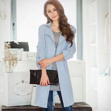 輕熟OL格紋棉麻襯衫外套(共2色)