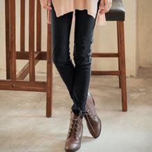 極細修身點點褲頭車線彈性鉛筆褲M-XL (共6色)
