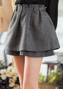 個性典範鬆緊褲裙M~L