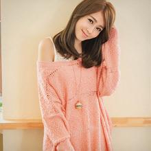 甜柔氛圍麻花針織毛衣(共2色)
