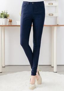 舒適纖腿超彈力長褲
