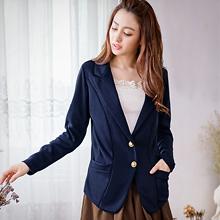 輕熟質感金釦西裝外套M~L