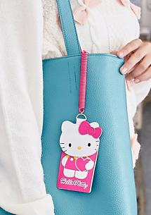 Hello Kitty可愛伸縮直式票卡夾