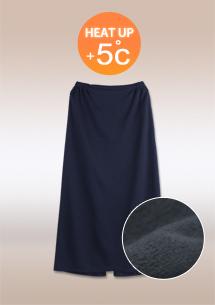 保暖內刷毛防風潑水一片裙