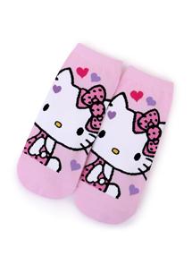 Hello Kitty保暖棉質短襪