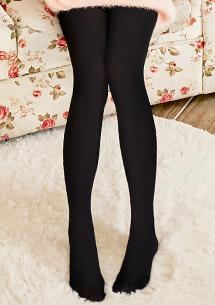 極彈美腿天鵝絨褲襪