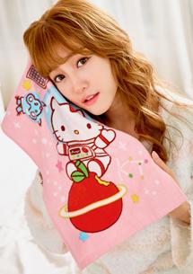 Hello Kitty 柔感純棉毛巾