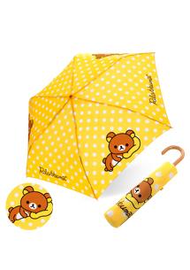 拉拉熊繽紛輕量彎把折傘