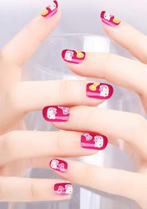 三麗鷗夜光指甲貼