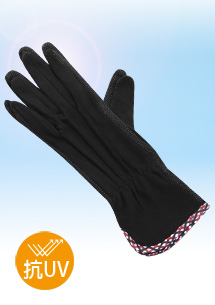 菱紋抗UV舒適止滑手套