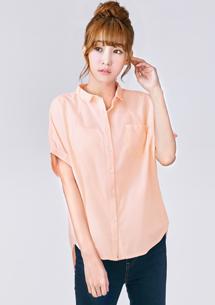 韓系造型剪裁襯衫