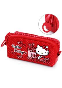 Hello Kitty造型收納包