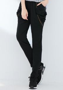潮感設計拉鍊口袋休閒褲