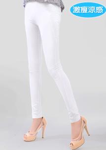 激瘦纖腿涼感鉛筆褲