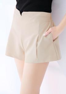 美型腰線短褲裙