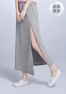 韓系開衩設計長裙