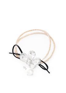 皇冠鑽飾珍珠髮圈