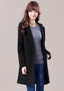 韓版演譯長版外套