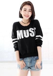 韓式風格短版上衣