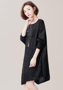 韓風寬鬆針織上衣